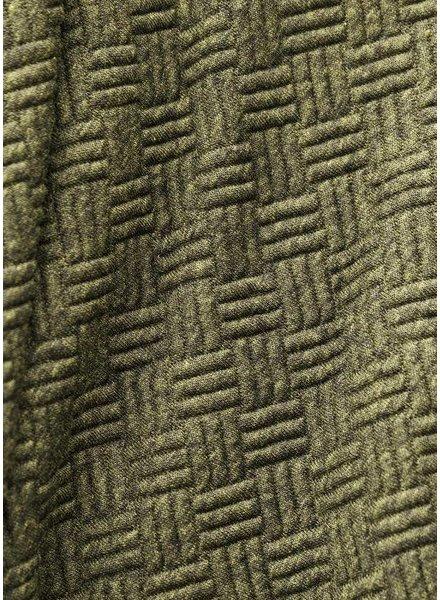 LMV khaki  textured knit - Ozzie Hoodie