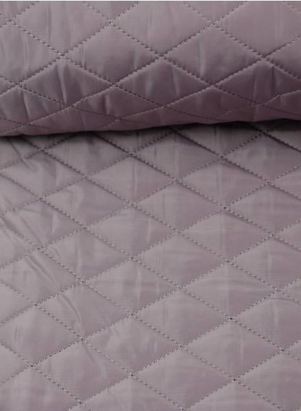 pink quilted coat fabric