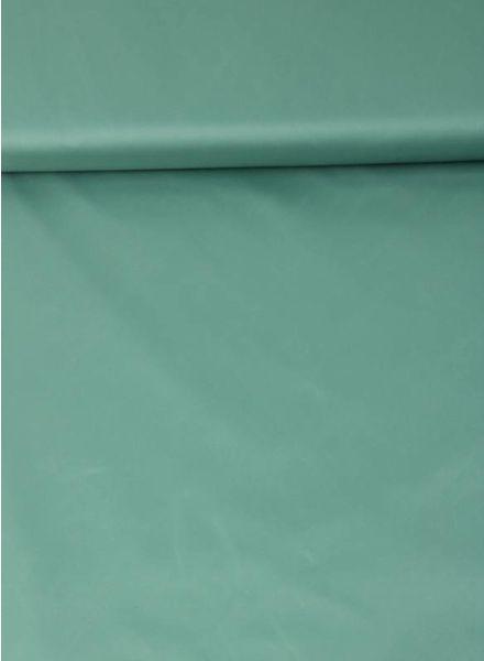 mintgroen - waterdichte stof