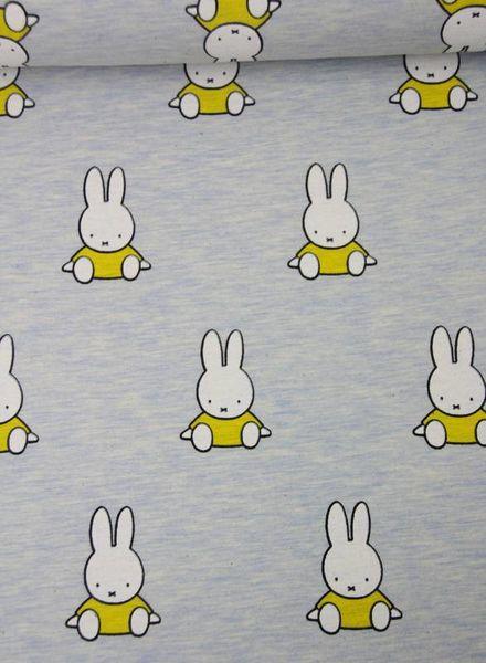 Nijntje geel melee - tricot