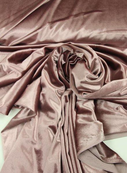 dusty pink -  velvet
