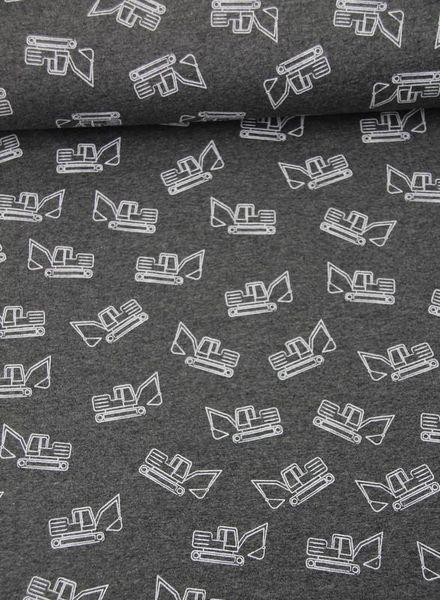 grey bulldozer – tricot