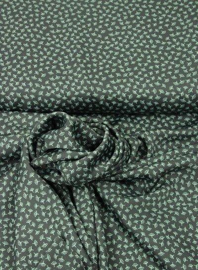 grey micro pluisbloem – satijn