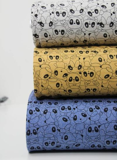 blue panda world – french terry
