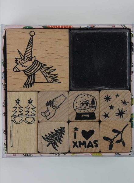 stamp set - magical Christmas