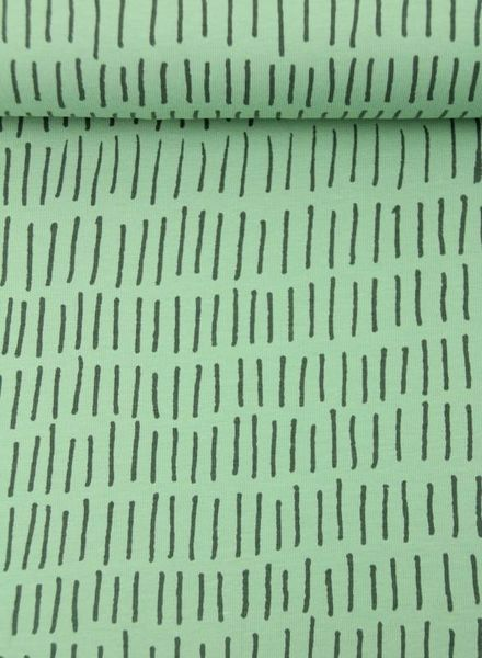 stripes mint –  jersey