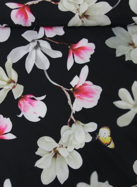 flower -  polyester stretch
