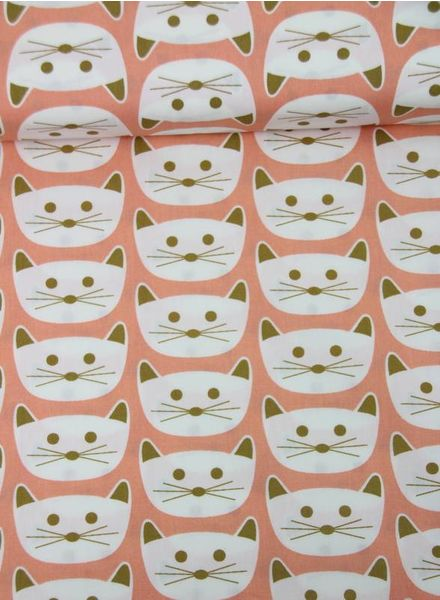 cat nap pink – cotton