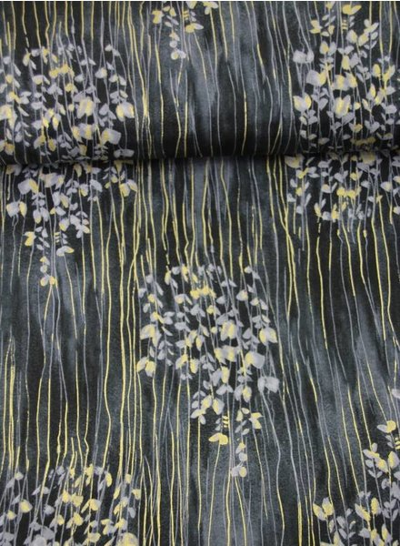 Timeless Treasures Fabrics zephyr shadow - katoen