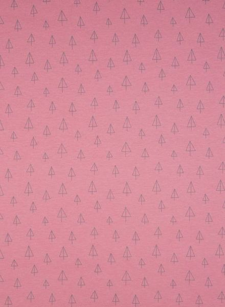 dusty pink tipi - organic interlock