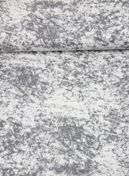 grey marble - french terry
