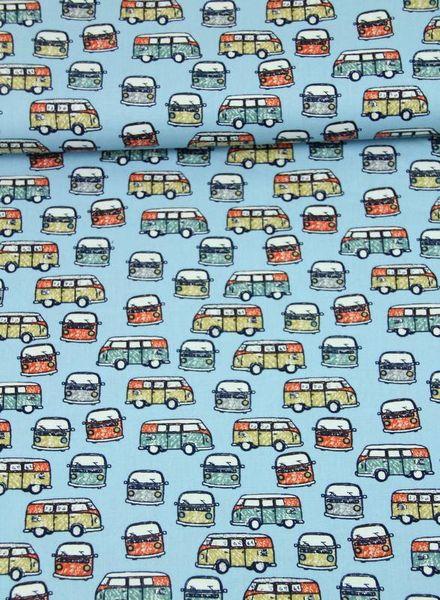 transporters blue - cotton