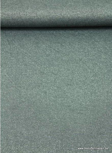 glitter viscose tricot - donkergrijs