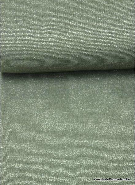 khaki sparkling - viscose tricot