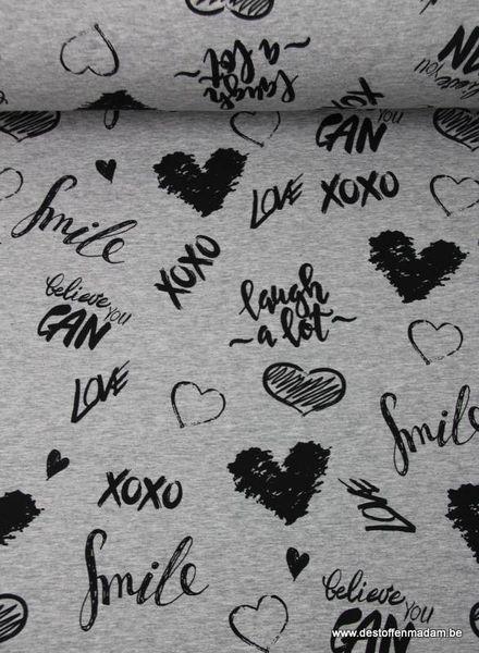 lieve woordjes - sweater