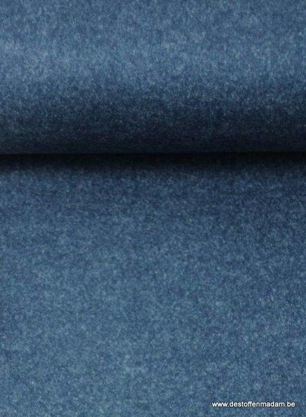navy melee - coat fabric mid season