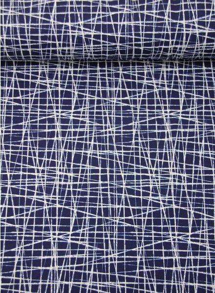 krasjes marineblauw - tricot