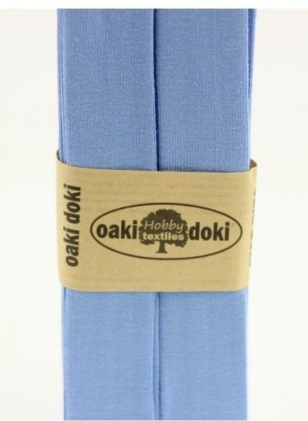 light blue - tricot biais 3 meter