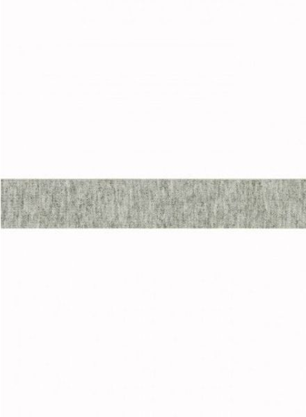 licht grijs melee - tricot biais 3 meter