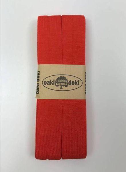 orange - jersey biais 3 meter