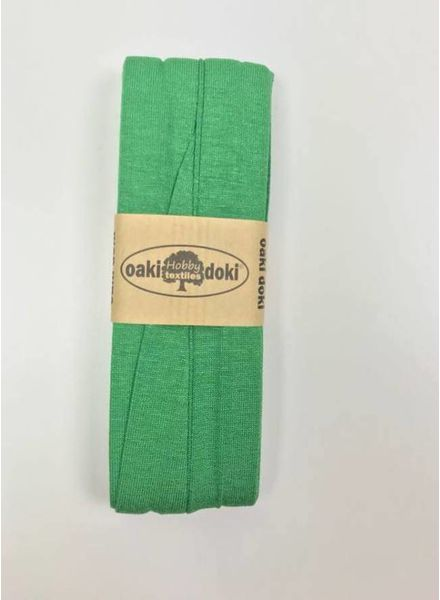 mintgroen - tricot biais 3 meter