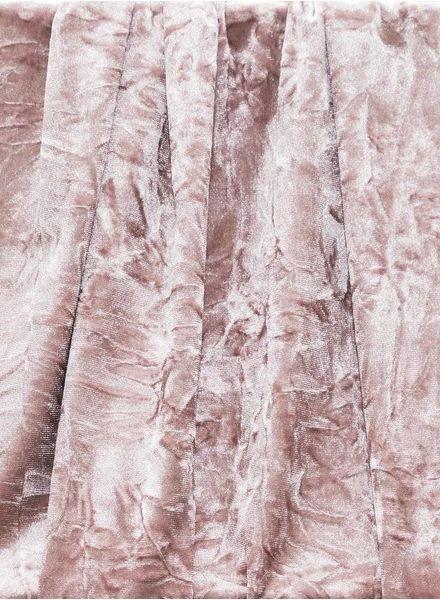 oud roze velvet