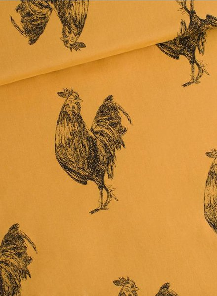 rooster chai oker - cotton lawn