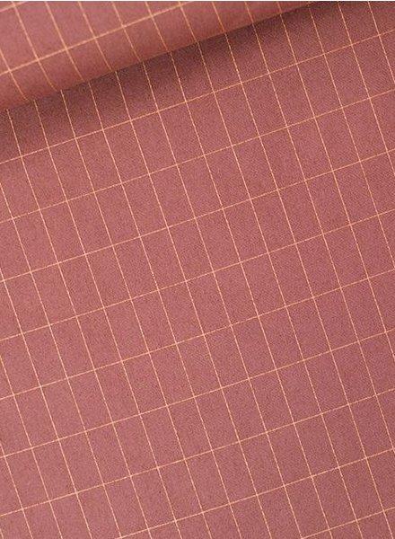 grill bruin koper- cotton lawn