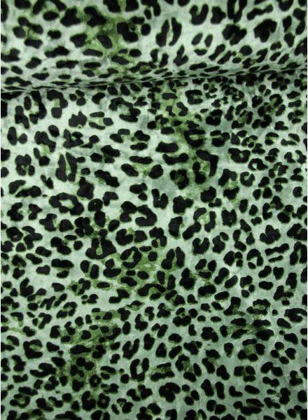 luipaard motief - velvet