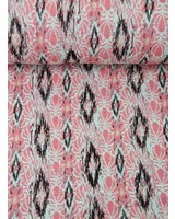 pink spring breeze - geweven jacquard