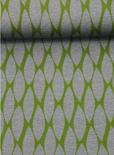 groene veertjes -  tricot