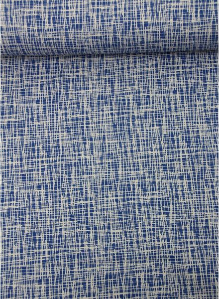 krasjes kobaltblauw - tricot