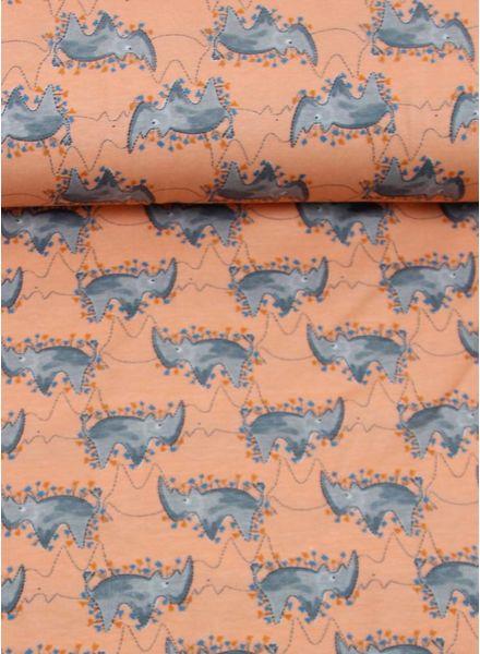 roze neushoorns -  tricot