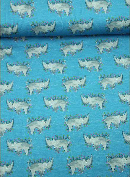 blauwe neushoorns -  tricot