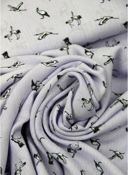 paars zwaluwen - viscose