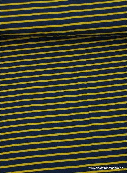 mustard stripes - tricot