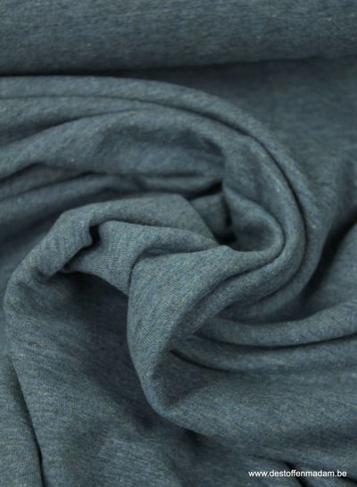 denim blue thin sweat fabric
