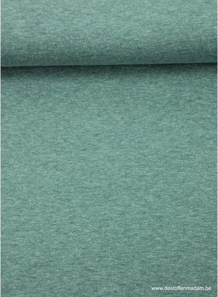 mintgroene dunne sweaterstof