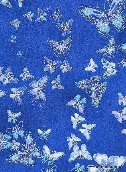 dutches blue katoen
