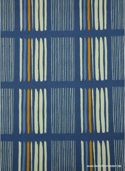 blue lines- katoen