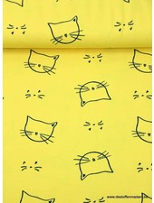 kitty cat yellow jersey