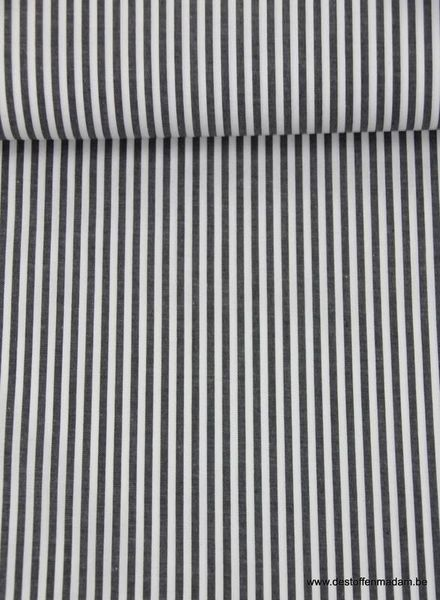 denimblue verticaly striped cotton