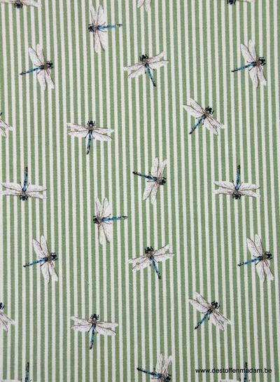 dragonfly - supple stretch cotton