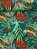 jungle leaves canvas