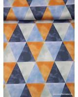 zachte driehoeken - satijn katoen