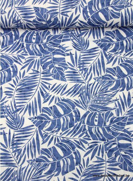 blauwe varens - hydrofiele stof