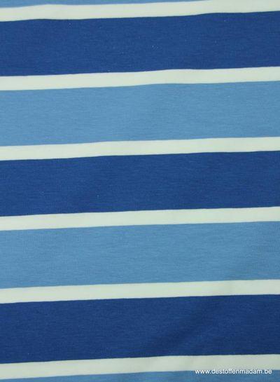 blue odd stripes - jersey
