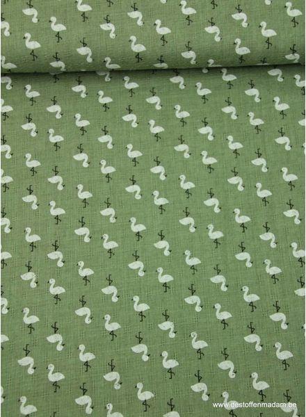 groene eend - mousseline