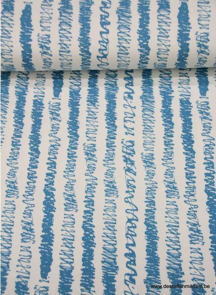 draws light blue - french terry