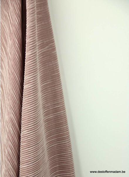 old pink - plisse